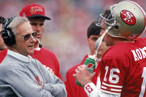 9 george seifert 49ers - winningest nfl playoff coaches