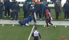 Bengals' Andrew Hawkins Knocks Down Ball Boy, Helps Him Up (GIF)