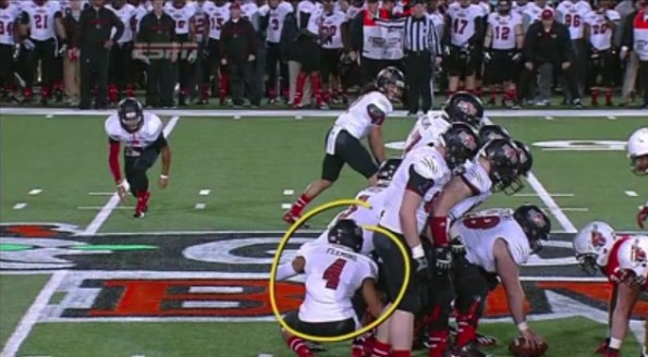 Arkansas State Hide the Midget play