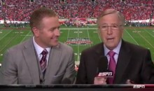 Brent Musburger Can't Remember His Name During BCS Title Game (Video)