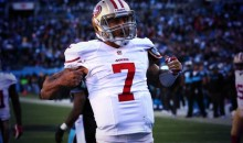Colin Kaepernick Does Decent Cam Newton Touchdown Celebration Impression (GIF)