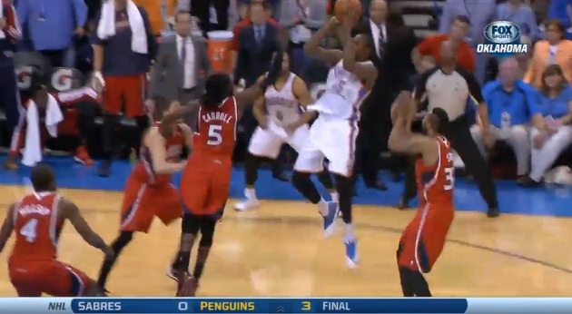 Kevin Durant game-winner vs Hawks