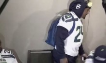 Marshawn Lynch Had Another Short Super Bowl Media Session on Wednesday (Video)