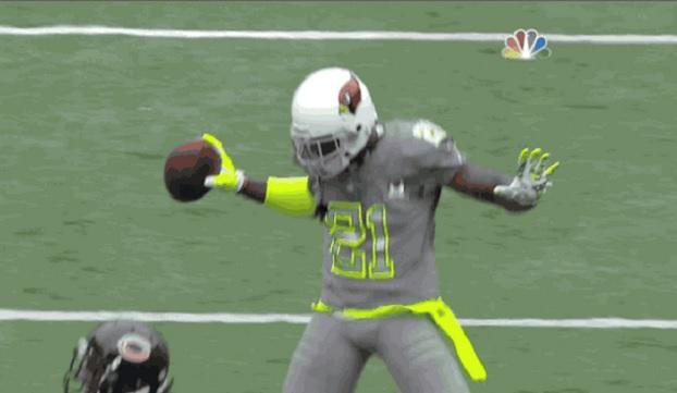 Patrick Peterson performs Deion Sanders touchdown dance