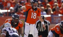 "Peyton Manning Uses ""Fat Man"" Call at Line of Scrimmage (Video)"
