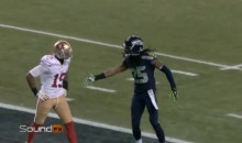 Richard Sherman and Michael Crabtree Mic'd Up For NFC Championship Game (Videos)
