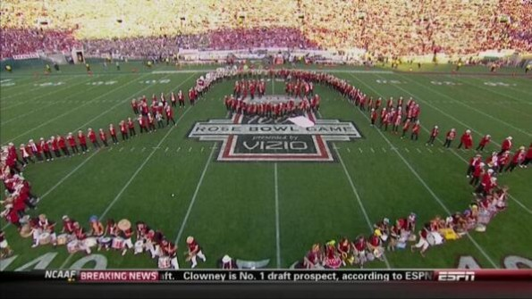 Stanford Band at the Rose Bowl
