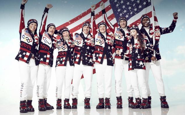 Team USA 2014 Opening Ceremony Uniforms