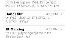 Tom Brady's (Faux) Text Inbox Blew Up After Losing AFC Championship