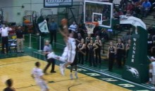 Two Wagner College Players Combine for Crazy Double Alley-Oop (Video)