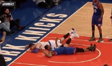 Andrea Bargnani's Attempted Posterization Was an Epic Fail (GIF)