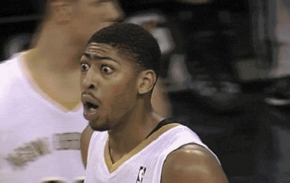 anthony davis raise unibrow
