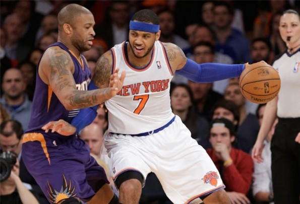 carmelo anthony vs suns