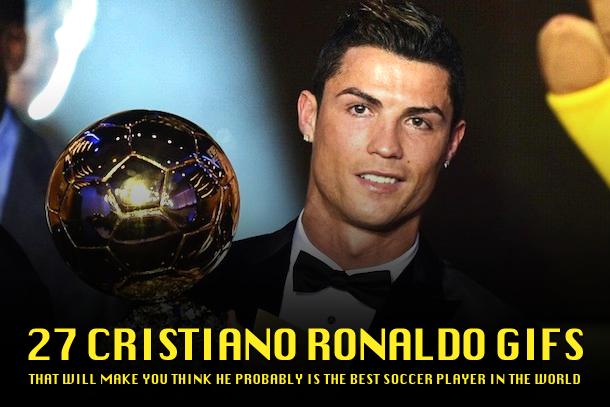 cristiano ronaldo gifs ballon d'or 2013