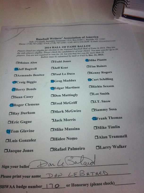 dan le batard bbhof ballot