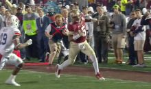 Of Course FSU Ball Boy Red Lightning Was at the BCS National Championship Game Last Night (GIFs + Video)