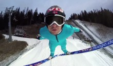 Ski Jumping Through the Lens of a GoPro Cam (Video)