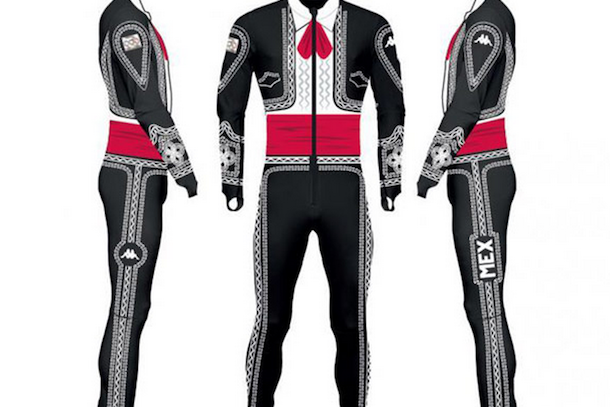 hubert hohenlohe olympic ski uniform