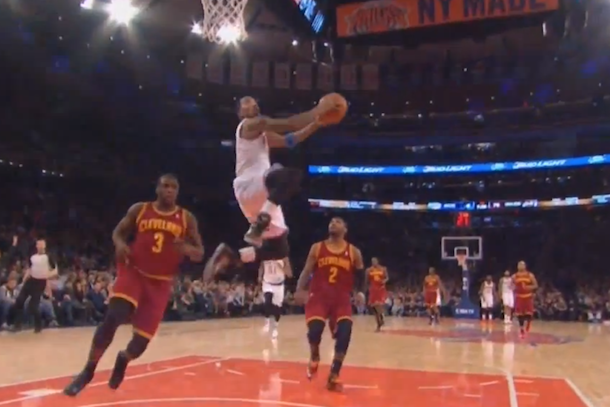 j.r. smith reverse dunk