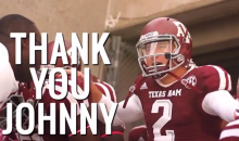 Johnny Manziel Has Declared for the 2014 NFL Draft, So Texas A&M Made this Video Tribute