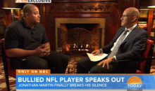 Jonathan Martin Finally Tells His Side of the Bullying Story to Tony Dungy on NBC's 'Today' Show (Video)