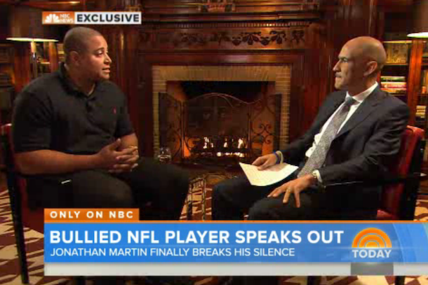 jonathan martin interview with tony dungy