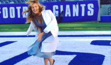 Here's Kate Upton Doing Victor Cruz's Salsa Dance (Video + GIF)