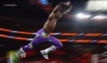 WWE's Kofi Kingston With Another Incredible Royal Rumble Moment (Video)