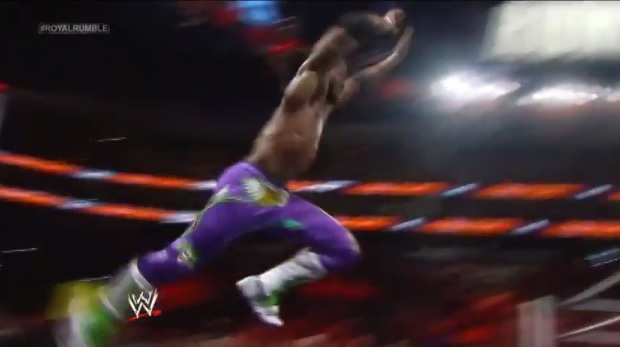 kofi kingston royal rumble save