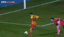 Lionel Messi Scored This Ridiculous Goal in his First Game Back From Injury (Video + GIF)
