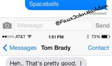 Here's a Mock Text Convo Between Peyton Manning and Tom Brady
