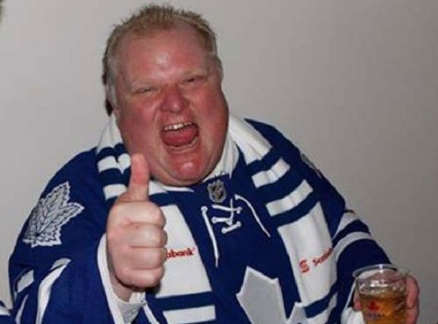 mayor ford leafs jersey