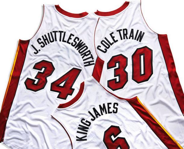 miami heat nickname jerseys