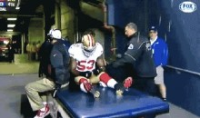 Classless Seahawks Fans Throw Popcorn on NaVorro Bowman as He's Carted Off the Field (GIF)