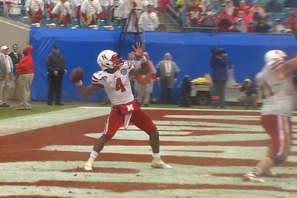 nebraska 99-yard touchdown