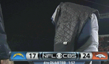 Philip Rivers Was Throwing Tantrums Left and Right During the Chargers' Loss to the Broncos (GIFs)