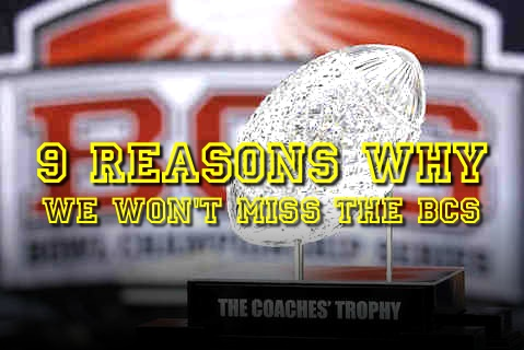 reasons why we won't miss the bcs (reasons why the bcs sucks)
