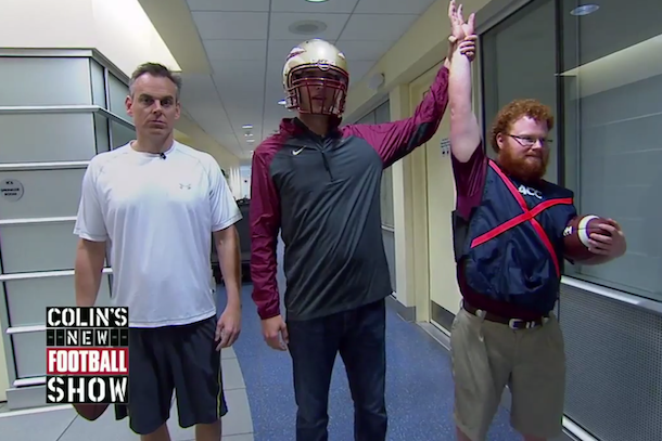 this espn segment officially makes red lightning the most famous