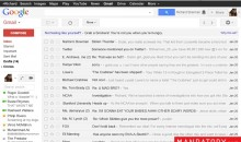 Here's a Hilarious Look at Richard Sherman's Fake Gmail Inbox (Pic)