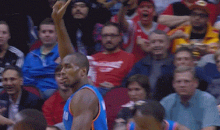Serge Ibaka Blocked Dwight Howard, then Gave Him the Mutombo Finger Wag (GIF)