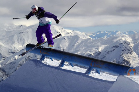 ski slopestyle - new sports 2014 winter olympics