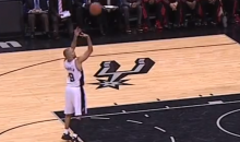 For Some Reason, Ref Gives Tony Parker a Mulligan After His Embarrassing Free Throw Fail (Video)