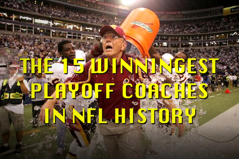 winningest nfl playoff coaches