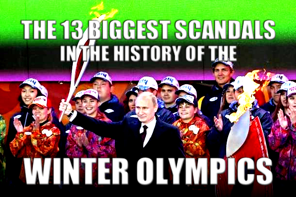 winter olympics scandals and controversies