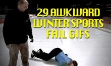 29 Awkward Winter Sports Fail GIFs