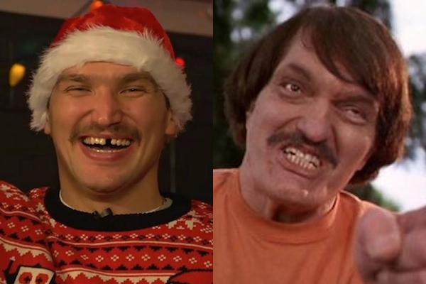 1 alex ovechkin and richard kiel - sochi 2014 winter olympics athlete celebrity doppelgangers look-alikes