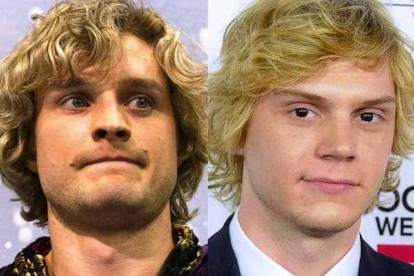 10 charlie white and evan peters - sochi 2014 winter olympics athlete celebrity doppelgangers look-alikes