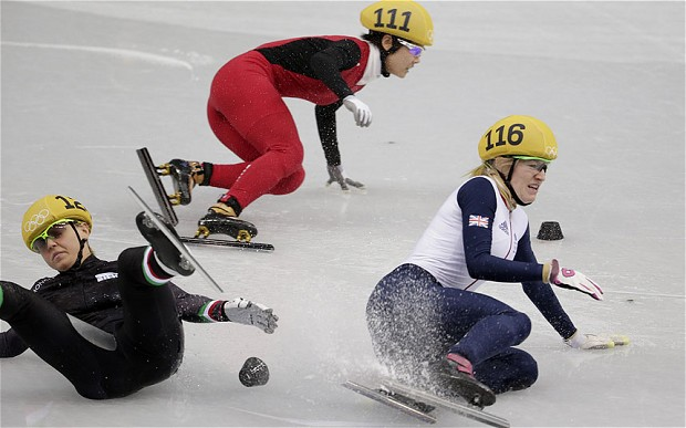 10 short track speed skating - boring winter olympic events