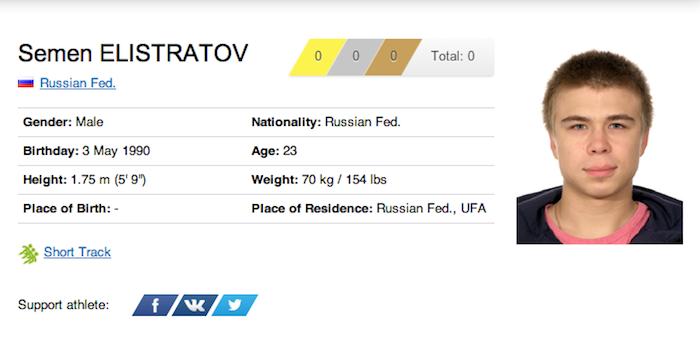 11 semen elistratov - funniest names 2014 winter olympics sochi
