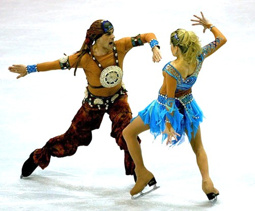 12 gypsies - insane crazy weird figure skating costumes
